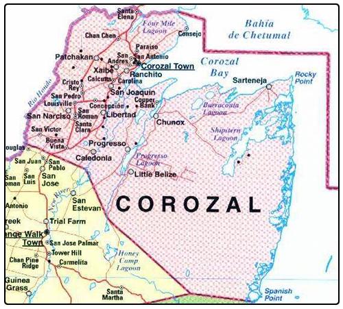 Zip code corozal